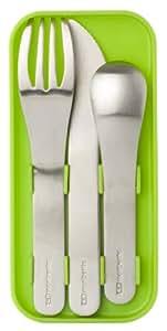 MB Pocket vert - Le set de couverts nomade