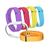 6X Replacement Band For Fitbit Flex Wireless Wristband Bracelet with Clasp / No Tracker