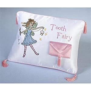 Lillian Rose 24TF400 Tooth Fairy Pillow WLM by Home Comforts