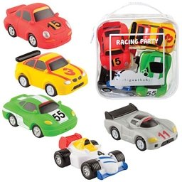 Elegant Baby Race Car Squirties Bath Tub Toy