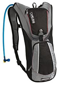 Camelbak Rogue 70 Oz Hydration Pack, Silver/Charcoal