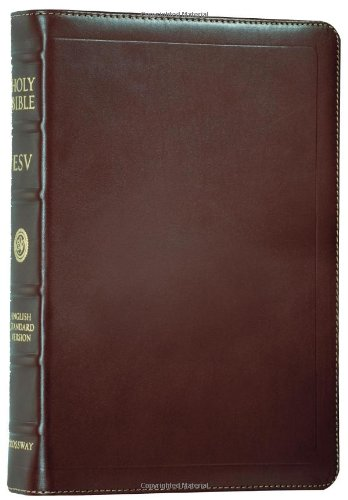 ESV Personal Size Reference Bible (Lambskin, Deep Brown)