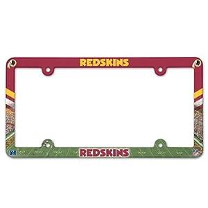 Washington Redskins License Plate Frame