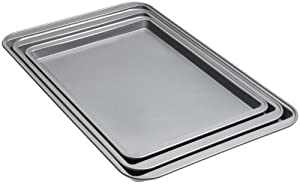 3 X Good Cook Set Of 3 Non-Stick Cookie Sheet