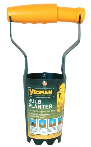 Yeoman CYE240 Carbon Steel Bulb Planter with Squeeze Handle