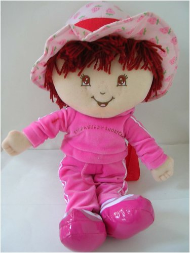 Strawberry Shortcake Plush Backpack in Jogging Suit - Buy Strawberry Shortcake Plush Backpack in Jogging Suit - Purchase Strawberry Shortcake Plush Backpack in Jogging Suit (Toys & Games, Categories, Stuffed Animals & Toys, Backpacks & Accessories, Backpacks)