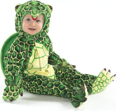 Turtle Baby/Toddler Costume (2/4T)
