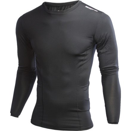 Image of Orca Compression Top - Long-Sleeve - Men's (B0076JWQ7I)