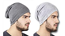 Huntsman Era Beanie caps for men / women (dark grey and light grey)