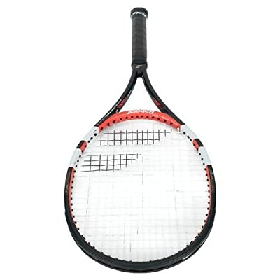 Babolat 101202-144 Pure Control Tour Plus GT Unstrung Tennis Racquet, 4 3/8 (Black/Red)