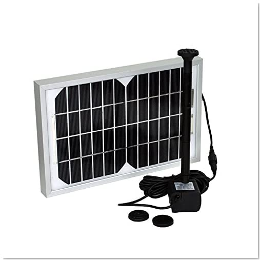 Instapark large solar power pond water pump 5 watts for Solar water filter for ponds
