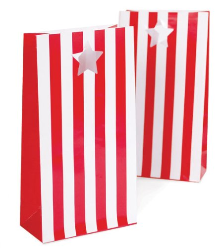 Paper Eskimo 12-Pack Party Bags, Candy Canes