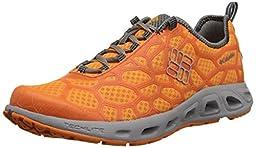 Columbia Men\'s Megavent Trail Shoe, Orange Blast/Columbia Grey, 8.5 D US