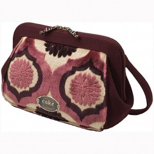 Petunia Pickle Bottom Cameo Ccck-00-286 Clutch,Plum Tart Cake,One Size front-833547