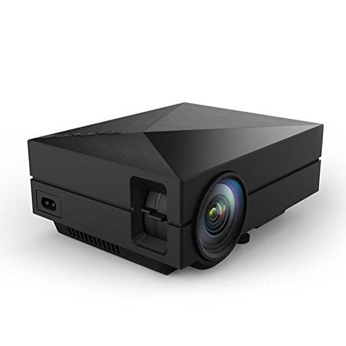 Happy Hours 2015 New Arrival GM60 1000 Lumen LED Projectors 920x1080p Mini Home AV USB HDMI VGA SD Port 800*480...