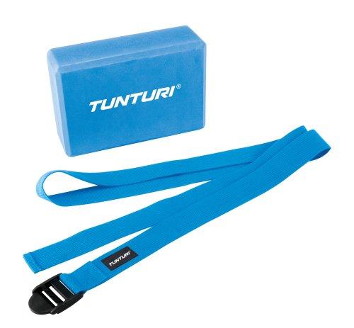 Tunturi Yoga Set Block & Strap