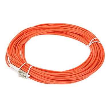 AV accessory, Fiber Optic Cable M/M LC/LC DMM Multi Mode Duplex Cable 62.5/125 Type 3.0mm Orange(10M) Coupon 2016
