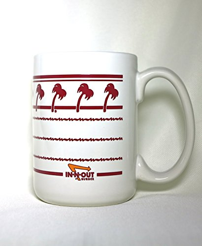 15 Oz. In N Out Burger Ceramic Coffee Mug