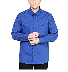 Yepme Men's Blue Cotton Shirts - YPMSHRT1115_38