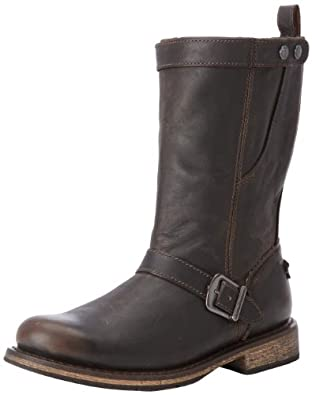 Harley-Davidson Men's Vincent Motorcycle Boot,Brown,7 M US
