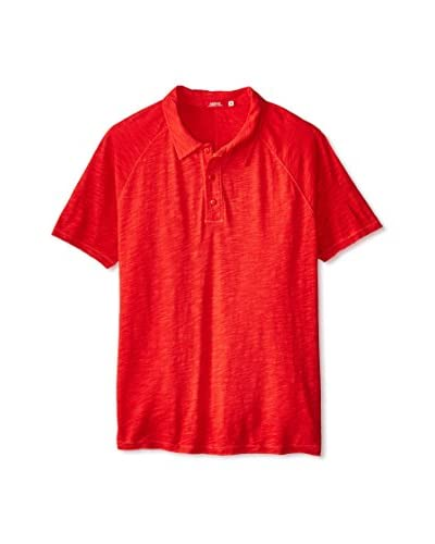 Agave Men's Uluwatu Short Sleeve Slub Polo