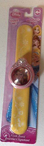 "Disney Princess Belle Flash Band Slapband ""Shake Me"" Bracelet"