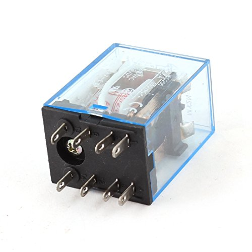 My2N-J Dc 28V Coil Red Led Power Relay 8 Pins Dpdt 2No 2Nc