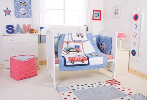Fire Truck Baby Bedding