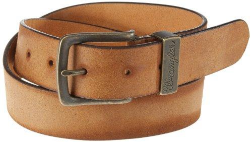 Wrangler - Cintura, uomo, Marrone (Braun (COGNAC 81)), 100 cm
