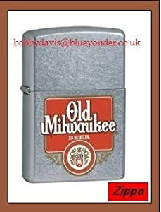 OLD MILWAUKEE  BEER ZIPPO LIGHTER