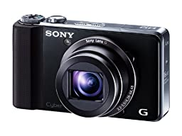 SONY Digital Camera Cybershot HX9V 16.2MP CMOS x16 Optical Zoom (Black) DSC-HX9V/B