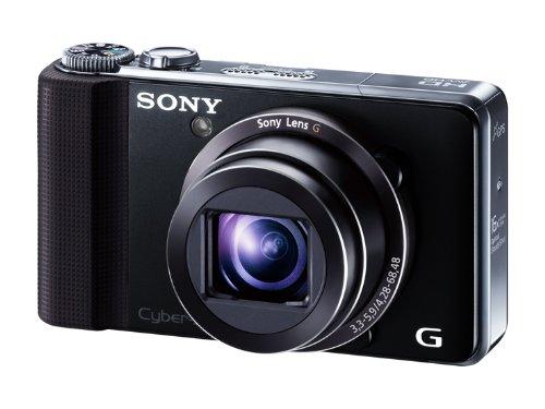 SONY デジタルスチルカメラ Cybershot HX9V 1620万画素CMOS 光学x16 ブラック DSC-HX9V/B