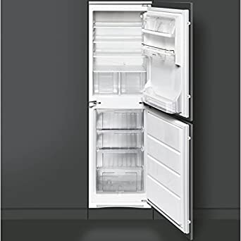 Smeg CR5050AP Cucina 50-50 Integrated Fridge Freezer: Amazon.co.uk ...