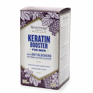Best Cheap Deal for ReserveAge Organics Keratin Booster For Men with DHT Blocker for Healthier Hair 60 ea from AB - Free 2 Day Shipping Available