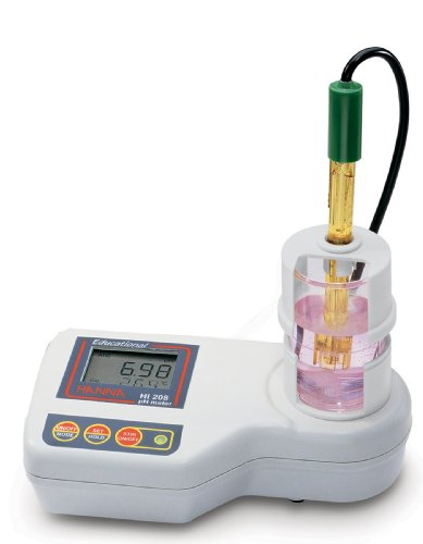 Hanna Instruments HI 208 Educational pH Meter w/Internal Ministirrer