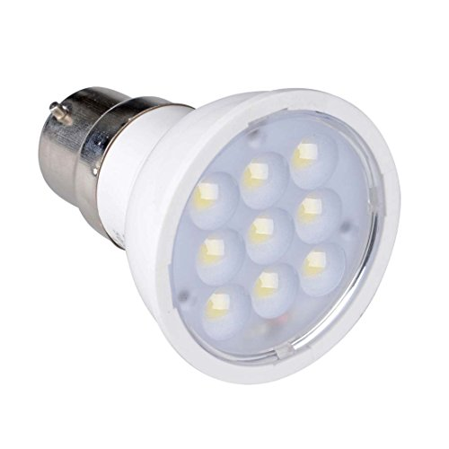 Grexistar 4W B22 Smd Led Cool White Spot Light, White Color