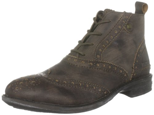 Replay Men's Nervuz Dark Brown Lace Up Boot Gmc03.002.C0013L.018 10 UK