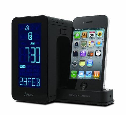 J-Force iPod/iPhone対応スピーカ「PRISM」 ブラック JF-SPI1RCK