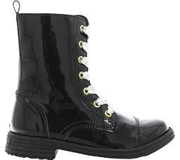 umi Stomp II Zipper Boot (Little Kid), Black, 31 EU(13 M US Little Kid)
