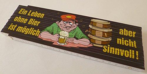 Zollstock-Meterstab-4m-Ein-Leben-ohne-Bier-ist-mglich-aber-nicht-sinnvoll