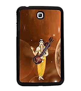 ifasho Designer Phone Back Case Cover Samsung Galaxy Tab 3 (7.0 Inches) P3200 T210 T211 T215 LTE ( Shiva and Ganesh Hindu God )