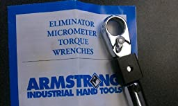 Armstrong Tools 64-130 3/4 Drive Torque Wrench 4-25 Nm Armstrong