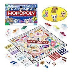 Monopoly: The Littlest Pet Shop Edition [Toy] by Hasbro