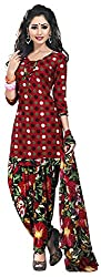 Offo*com Women's Synthetic Dress Material (1061)