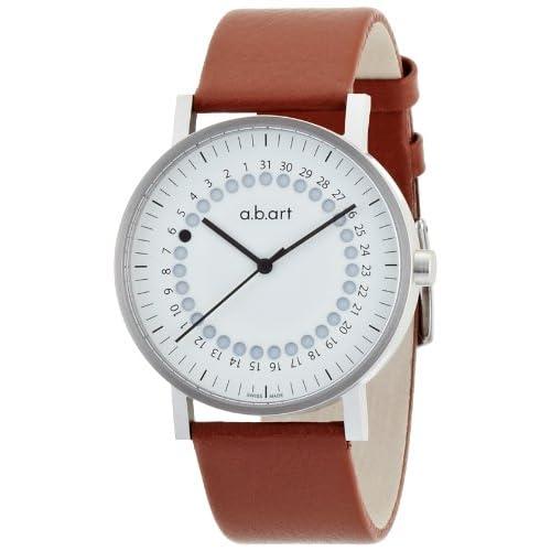 [エービーアート]a.b.art 腕時計 series O O 101 W BR/S メンズ 【正規輸入品】