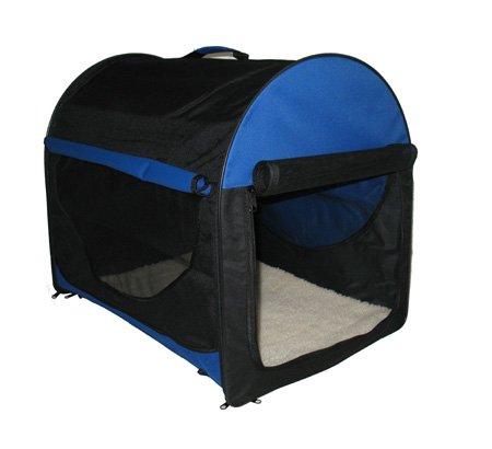 bunny-business-cage-pliante-pour-chien-en-tissu-doublure-polaire-housse-de-transport-bleu-noir-taill