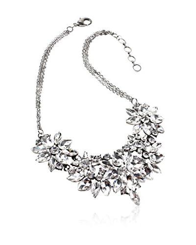 Amrita Singh Collar Veronica Crystal Plateado / Transparente