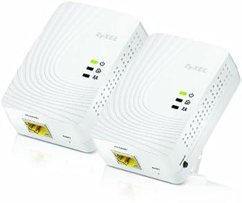 2-Pk. ZyXEL 600-Mbps Mini AV2 Gigabit Adapter