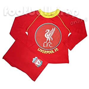 Liverpool FC Toddler Boys Pyjamas Long Sleeve Red 2-3 Years from Liverpool