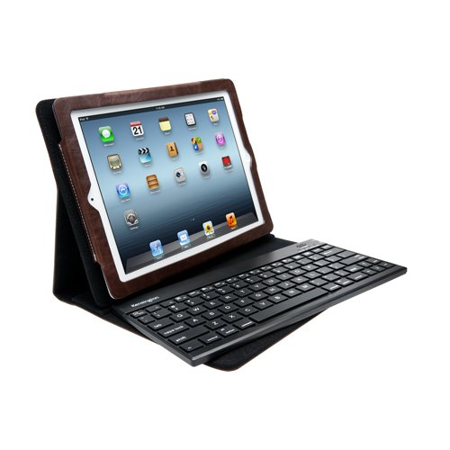 Kensington KeyFolio Pro2 Removable Keyboard Case & Stand for iPad 4 with Retina Manifest, New iPad (3rd Gen) and iPad 2